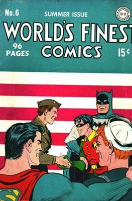 World's Finest Comics (1941-1986) (Comic Book) #6