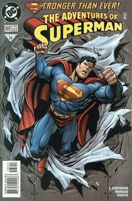 Superman Vol. 1 / Adventures of Superman Vol. 1 (1939-2011) (Comic Book) #568