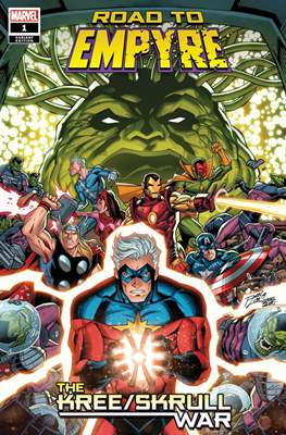 Road To Empyre: The Kree/Skrull War (Variant Cover)
