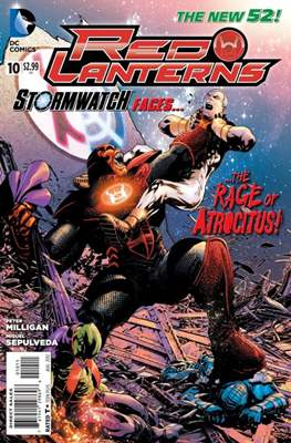 Red Lanterns (2011 - 2015) New 52 #10
