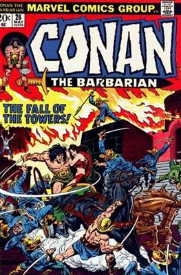 Conan The Barbarian (1970-1993) (Comic Book 32 pp) #26