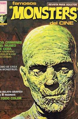 Famosos Monsters del Cine (Grapa , 66 páginas. 1975-1977) #3