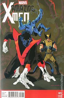 Amazing X-Men Vol. 2 (Variant Covers) #1.2