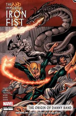 The Immortal Iron Fist: The Origin of Danny Rand