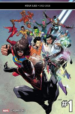 Champions Vol. 3 (Comic Book) #1
