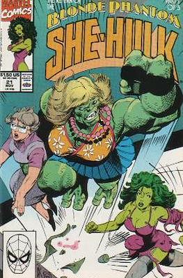 Sensational She-Hulk (1989-1994) (Grapa) #21