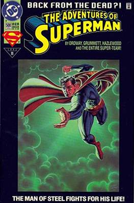 Superman Vol. 1 / Adventures of Superman Vol. 1 (1939-2011 Variant Cover) (Comic Book) #500