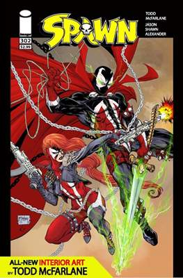 Spawn (Variant Cover) (Comic Book) #302.3