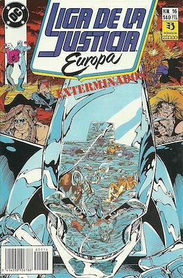 Liga de la Justicia Europa (1989-1992) (Grapa) #16
