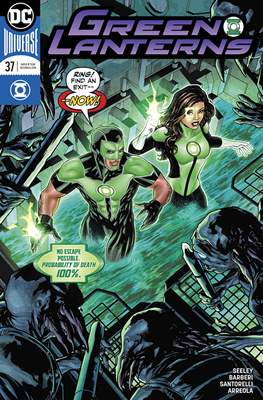 Green Lanterns Vol. 1 (2016-2018) (Comic-book) #37