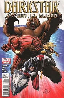 Darkstar & the Winter Guard (Comic-Book) #1