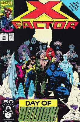 X-Factor Vol. 1 (1986-1998) (Comic Book) #70