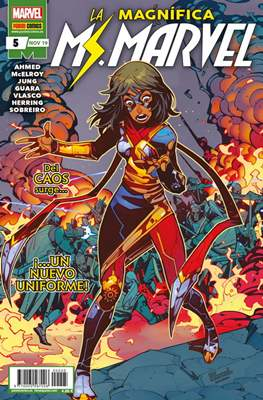 La Magnífica Ms. Marvel (2019-) (Grapa 24 pp) #5