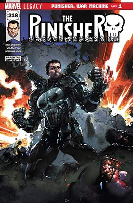 The Punisher Vol. 11 (2017) (Comic-book) #218