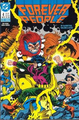 Forever People Vol 2: (1988) (Comic-book.) #4