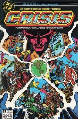 Crisis en Tierras Infinitas (1987) (Grapa. 32 páginas. Color.) #3