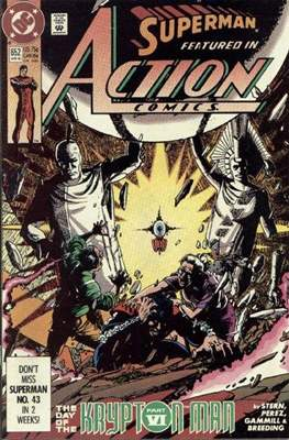 Action Comics Vol. 1 (1938-2011; 2016-) (Comic Book) #652