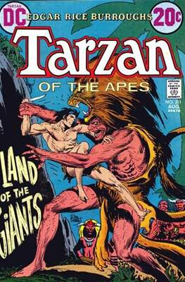 Tarzan (Comic-book) #211