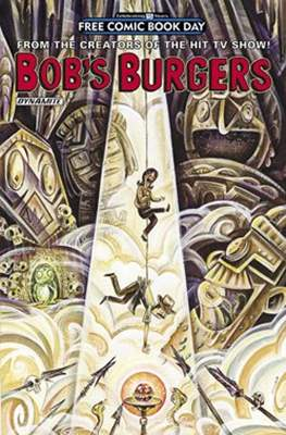 Bob's Burguers. Free Comic Book Day 2016