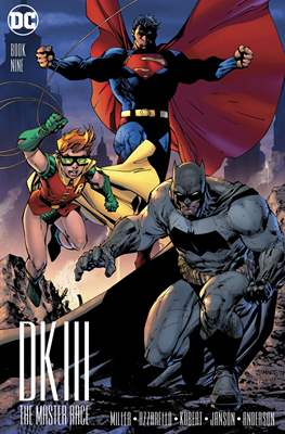 Dark Knight III: The Master Race (Variant Cover) (Comic Book) #9.1