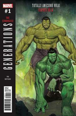 Generations - The Strongest Banner Hulk and Totally Awesome Hulk