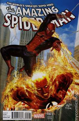 The Amazing Spider-Man (Vol. 2 1999-2014 Variant Covers) (Grapa) #700.5
