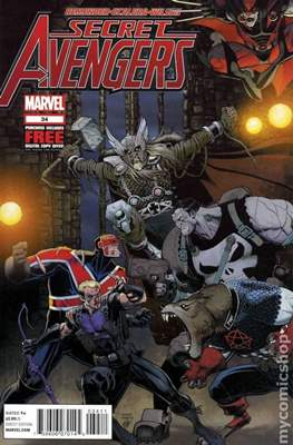 Secret Avengers Vol. 1 (2010-2013) #34