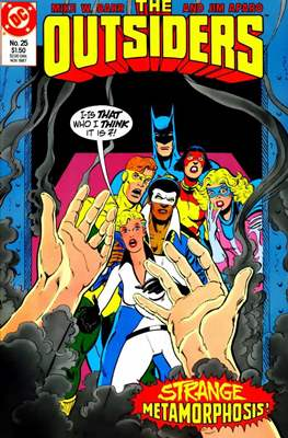 The Outsiders (1985-1988) (Comic Book) #25