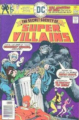Secret Society of Super-Villains (Comic Book. 1976) #1