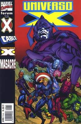 Universo-X (2000-2001) (Grapa. 17x26. 72/80 páginas. Color. (2000-2001)) #12