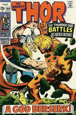 Journey into Mystery / Thor Vol 1 (Comic Book) #166