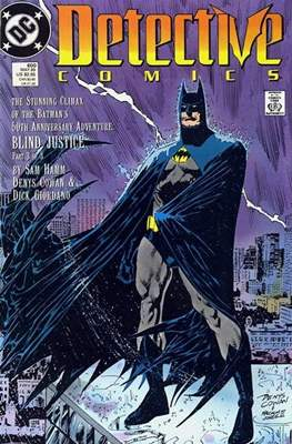 Detective Comics Vol. 1 (1937-2011; 2016-) (Comic Book) #600