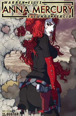 Anna Mercury (Comic-book) #2