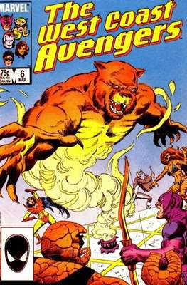 West Coast Avengers Vol. 2 (Comic-book. 1985 -1989) #6
