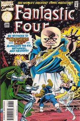 Fantastic Four Vol. 1 (1961-1996) (saddle-stitched) #398
