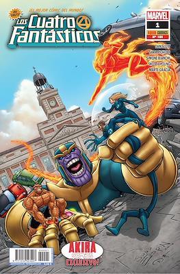 Los 4 Fantásticos #1/101 Akira Comics Exclusivo (Grapa) #