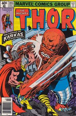 Journey into Mystery / Thor Vol 1 (Comic Book) #285