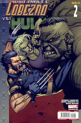 Ultimate Lobezno vs. Hulk (Grapa) #2