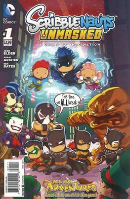 Scribblenauts Unmasked: A Crisis of Imagination Vol 1