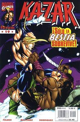 Ka-Zar (1998-1999) (Grapa. 17x26. 24 páginas. Color.) #19