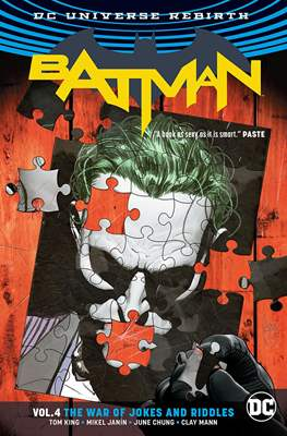 Batman Vol. 3 (2016-) (Softcover) #4