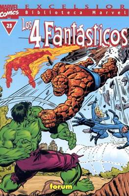 Biblioteca Marvel: Los 4 Fantásticos (1999-2001) (Rústica 160 pp) #23