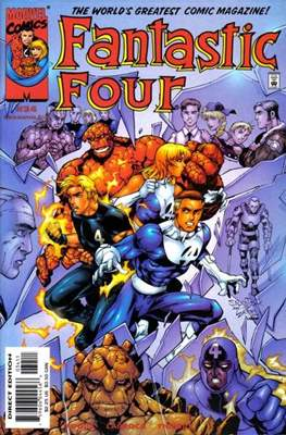 Fantastic Four Vol. 3 #34