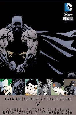 Grandes Autores de Batman: Brian Azzarello y Eduardo Risso. Ciudad rota y otras historias