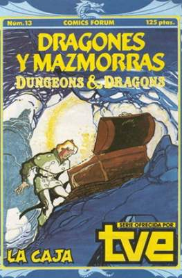 Dungeons and dragons. Dragones y mazmorras (Grapa 32 pp) #13