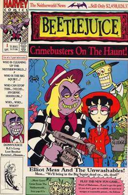 Beetlejuice Crimebusters on the Haunt