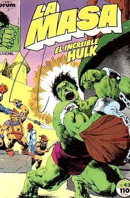La Masa. El Increíble Hulk (Grapa 36-32 pp) #43