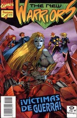 The New Warriors vol. 2 (1995) (Rústica. 17x26. 96 páginas. Color. (1995).) #4