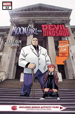 Moon Girl and Devil Dinosaur (Comic-book) #32