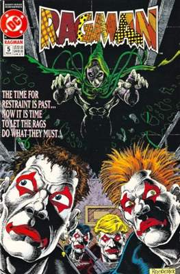 Ragman Vol. 2 (1991-1992) (Comic-book.) #5